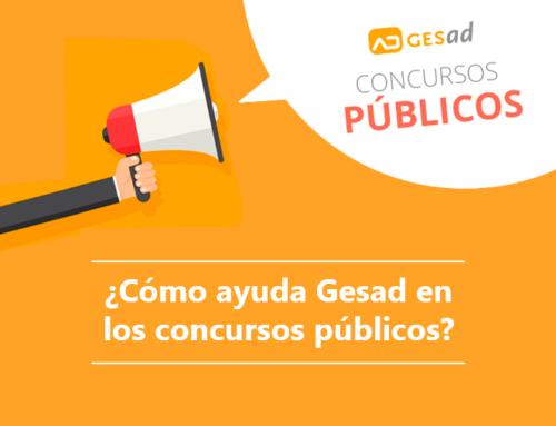 ¿Cómo nos ayuda Gesad en los concursos públicos?