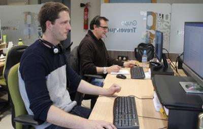 José Carlos Serrano y Joaquín Bish, nuevos trabajadores de soporte en Gesad