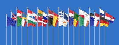 Banderas de países de Europa