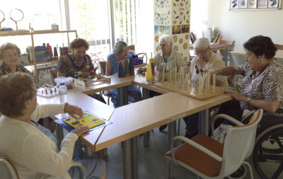 Trabajo en EULEN con pacientes de Alzheimer