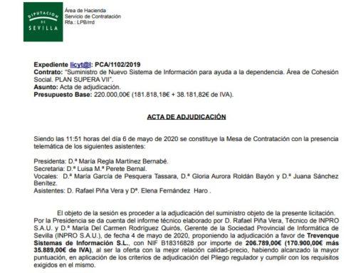 La Diputación de Sevilla adjudica a Gesad la implantación de un sist...