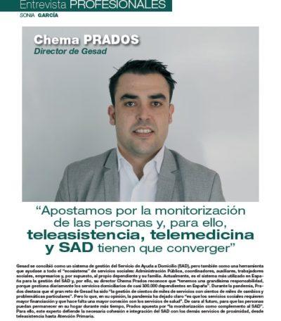 Entrevista a Chema Prados en las páginas de Balance Sociosanitario