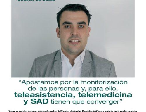 Chema Prados: «Teleasistencia, telemedicina y SAD tienen que converge...